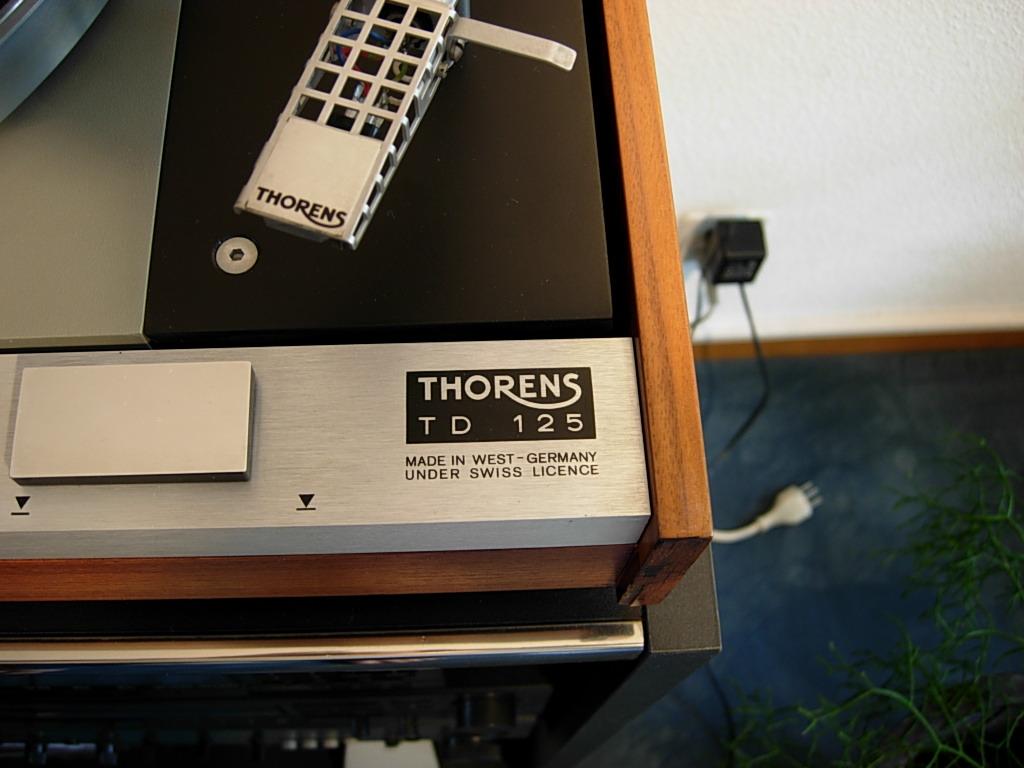 Thorens TD 125 / 126 MKI and MKII